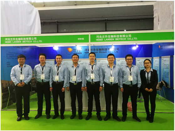 The company's sales and procurement team participated in the 19th China International Agricultural Chemicals Exhibition in Shang